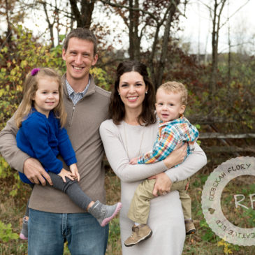 Fall Outdoor Portrait Photography | Plain City, Ohio