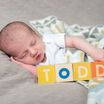 Baby Todd | Columbus Newborn Photographer